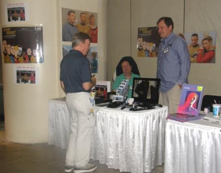 Michael Day & Mark Hildebrand at Baltimore Comic-Con